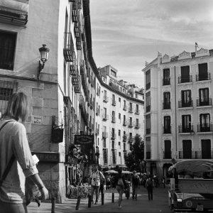 Calle Cava de San Miguel - Mercado de San Miguel - Madrid - Spain - Spanien